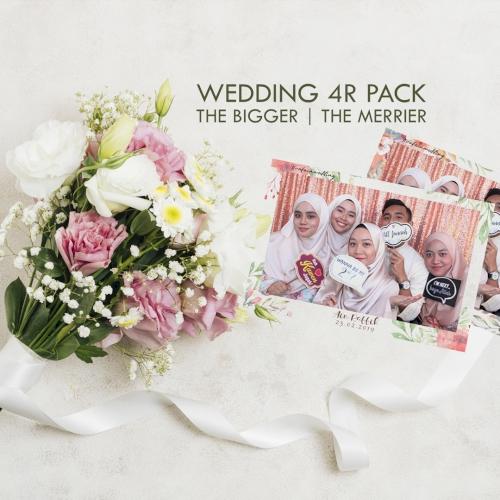Wedding Photobooth 4R Pack